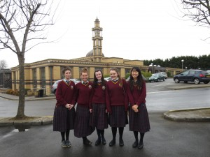 Megan, Hannah, Aoife, Kieva and Lydia